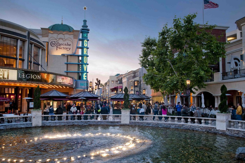 The Grove, LA Best Mall